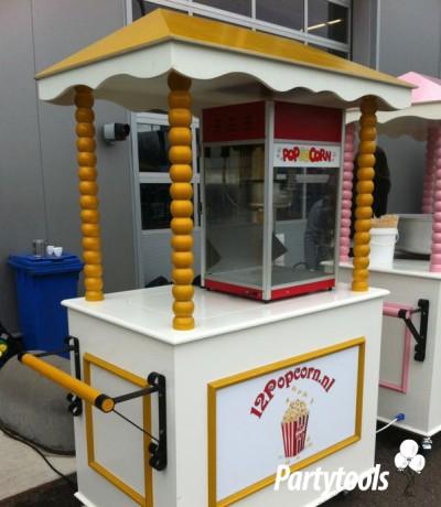 Popcornkar huren in regio Middelburg